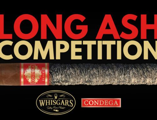 CONDEGA SERIE S, OFFICIAL CIGAR FOR LONG ASH COMPETITION