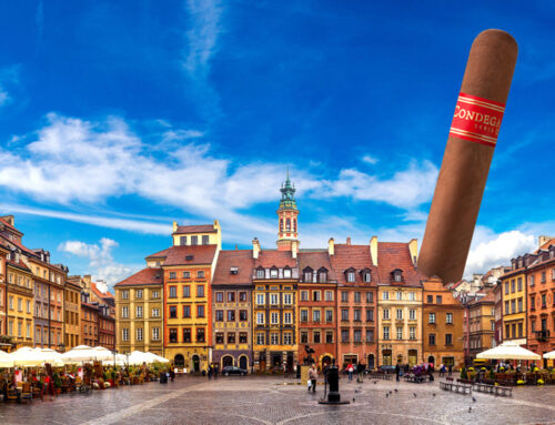 CONDEGA CIGARS TRAVELS ALL THE WAY TO POLAND