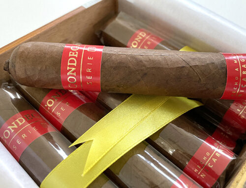 CONDEGA SERIE F RESTYLED: NEW LOOK FOR THE SAME CIGAR