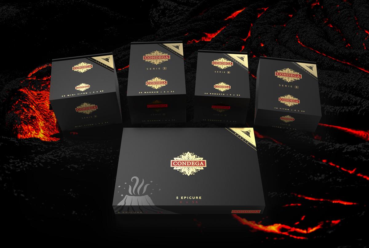 CONDEGA MASAYA CONDEGA CIGARS LIMITED EDITION VOLCANO BOXES