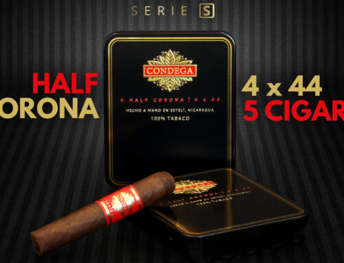 CONDEGA HALF CORONA: THE NEWEST MEMBER OF THE SERIE S' FAMILY