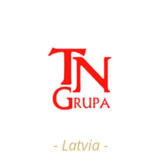 Logotipo TN Grupa Latvia